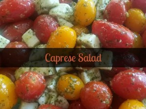 Caprese Salad: Just In Time For Summer