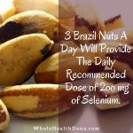 Selenium is a trace mineral found naturally in the soilhellip