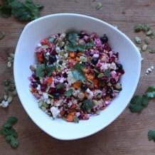 Detox Rainbow Veggie Salad
