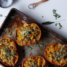Savory Stuffed Pumpkin Stuffing