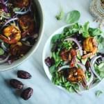 Aegean Salad with Blackened Shrimp {Whole30  + AIP}