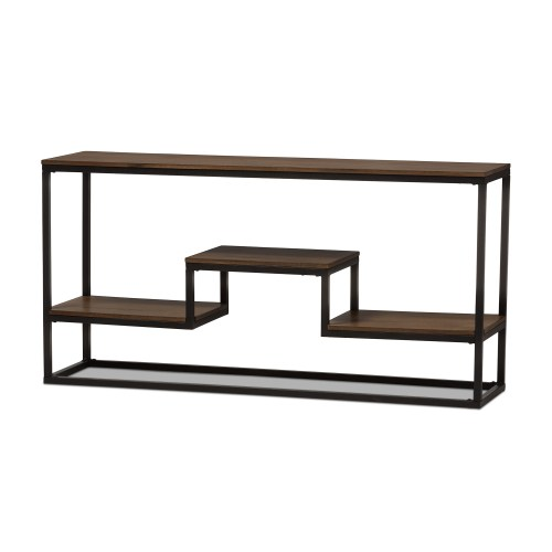 Medium Of Metal Console Table