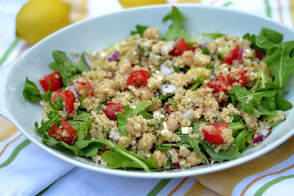 ... Quinoa Salad with Lemon Pepper Vinaigrette - Wholesomelicious