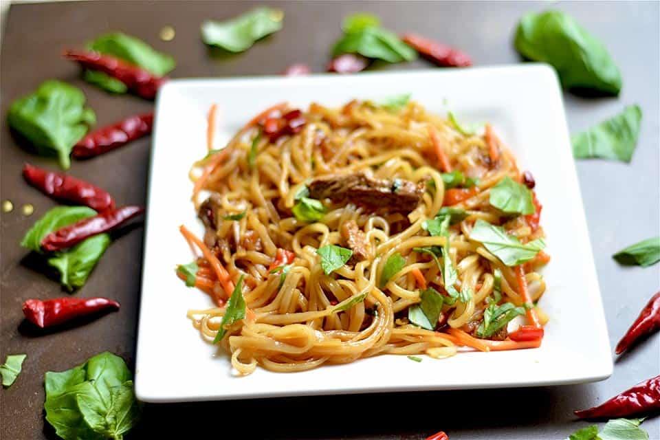 Thai Beef Drunken Noodles 3