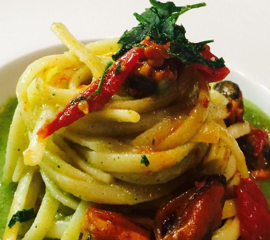 Spaghetti cozze e broccoli
