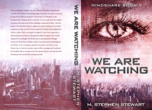 We Are Watching Print Cover cropped