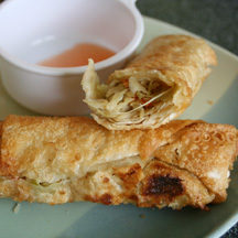 Kahiki Foods Vegetables Egg Rolls