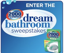 2000 Flushes & Carpet Fresh Sweepstakes – Giveaway