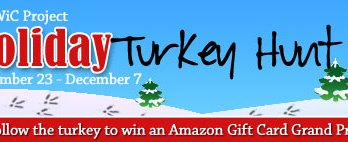 2nd Annual Holiday Turkey Hunt Blog Hop Event! Sign-up today!