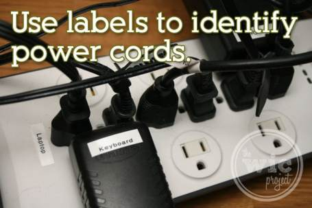 Label Power Cords