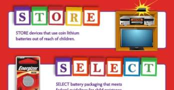 Keeping Coin Lithium Batteries Safe from Kids