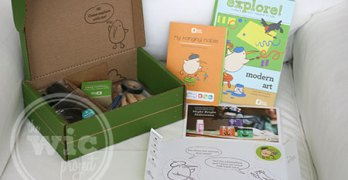 A Monthly Activity Box for Kids – Kiwi Crate