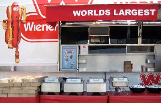 Wienerschnitzel Wiener Wagon Catering