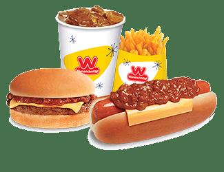 Wienerschnitzel Meal Combos