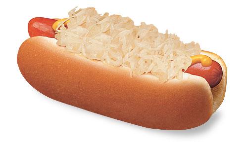 Hot Dog And Sauerkraut Calories