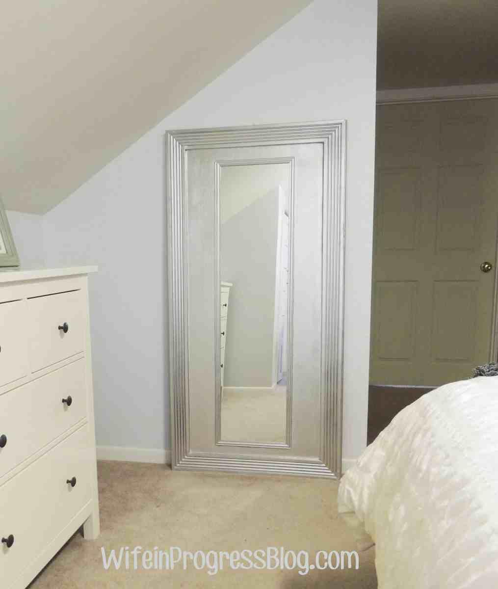 $25 DIY Floor Mirror