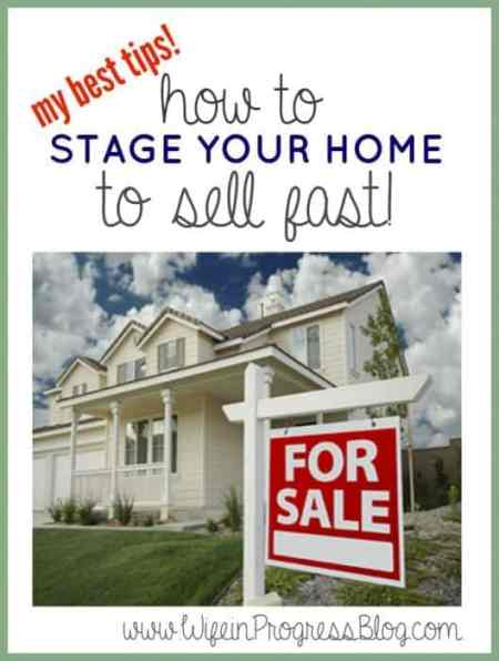 Home Staging Tips| Wife in Progress