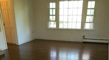 Freshly Refinished & Stained Floors