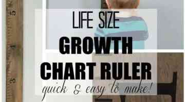 Life Size Growth Chart Ruler