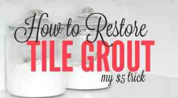 How to Restore Grout to its Former Glory