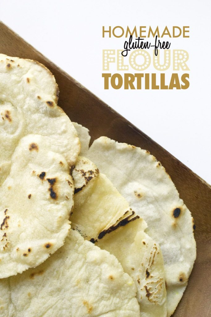 Homemade Gluten-Free Flour Tortillas | Easy to make and vegan-friendly ...