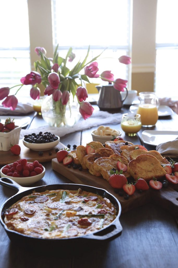 Mother 39 s day brunch recipes wifemamafoodie for Table 52 mother s day brunch