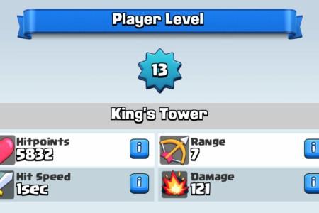 niveau 13 clash royale