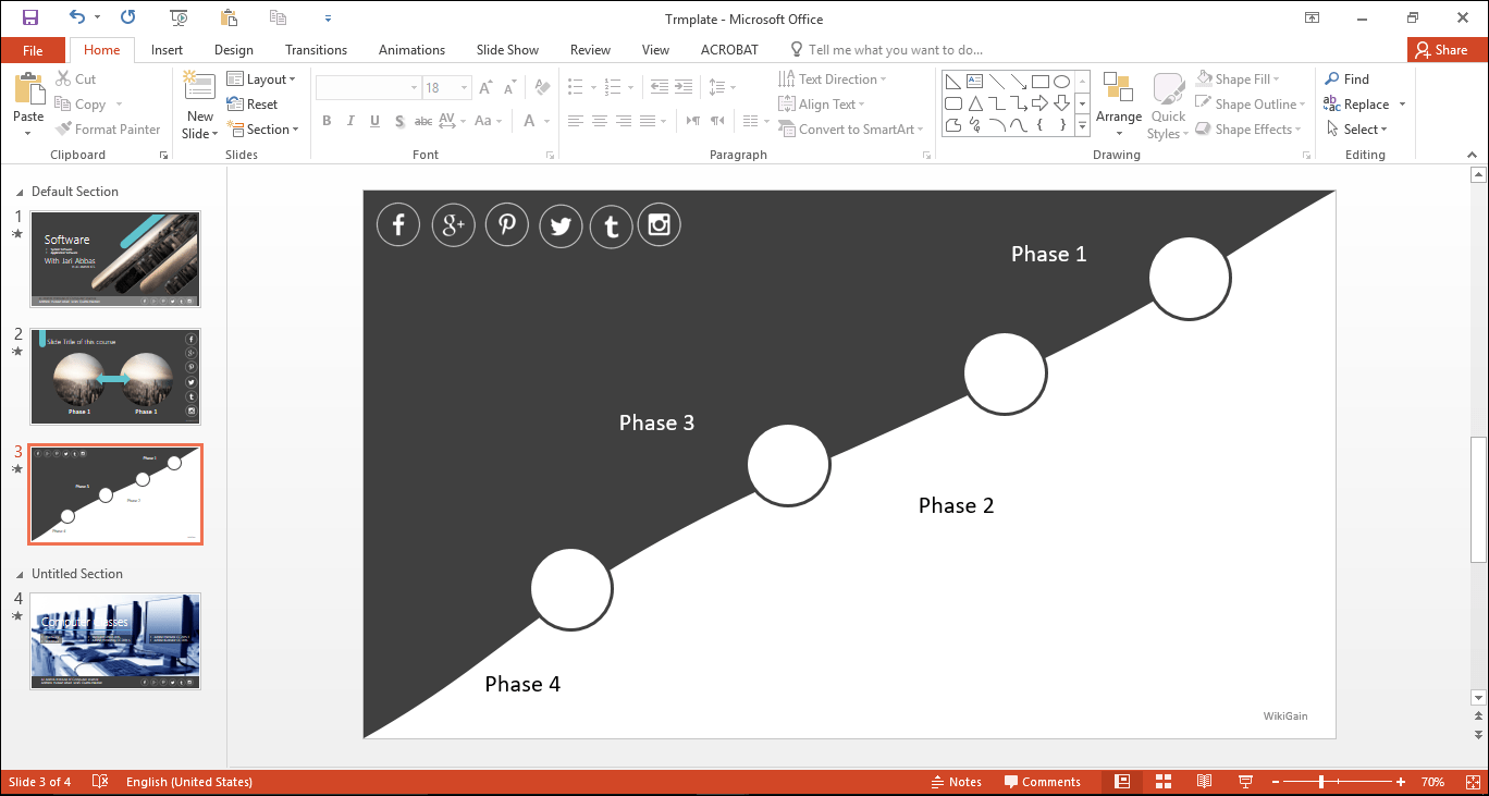 how to draw curved freeform shapes in powerpoint