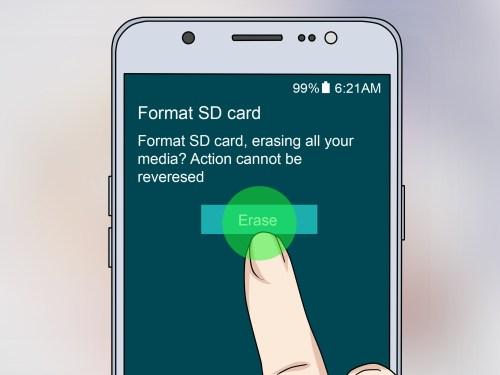 Medium Of Sd Card Wont Format