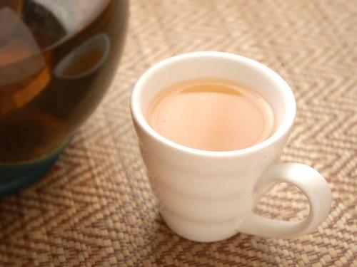 Medium Of Plain White Tea Cup