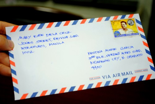 With Sample Envelopes And Letters. Sending Letter To Canada Postage ...