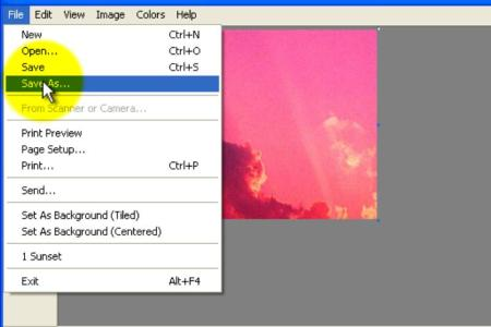 Crop An Image With Microsoft Paint Step 13 Version 2