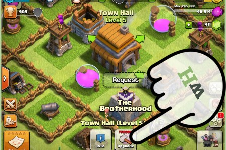 have a good base in clash of clans step 12
