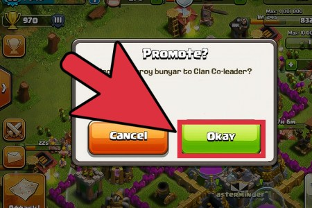 promote a clan member in clash of clans step 5