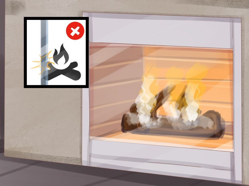Large Of How To Clean Fireplace Glass