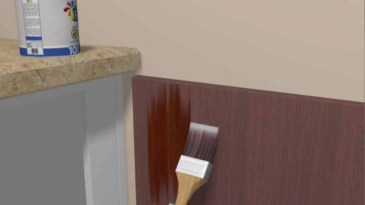 Paint Varnished Cupboards refinish kitchen cabinets Refinish Kitchen Cabinets