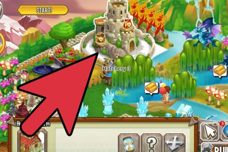 make a queen dragon in dragon city step 7 version 2