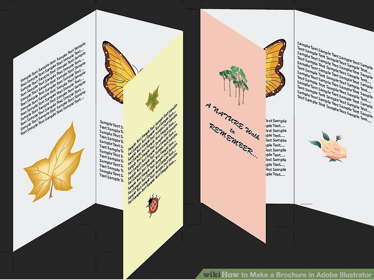 How to Make a Brochure in Adobe Illustrator  10 Steps Image titled Make a Brochure in Adobe Illustrator Step 10