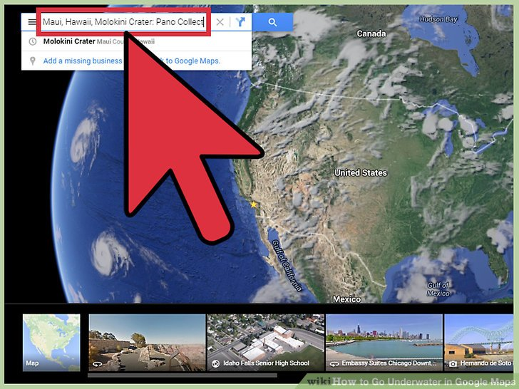 How to Go Underwater in Google Maps  10 Steps  with Pictures  Image titled Go Underwater in Google Maps Step 2