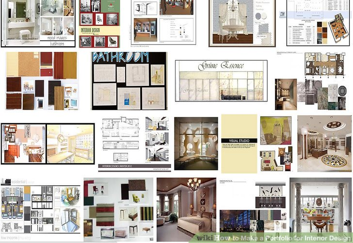 How to Make a Portfolio for Interior Design  6 Steps Image titled Make a Portfolio for Interior Design Step 3