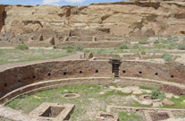 Pueblo Indian Ruins- Chaco Culture National Historic Park