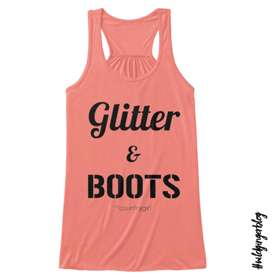 Wild Ginger Threads- Glitter & Boots