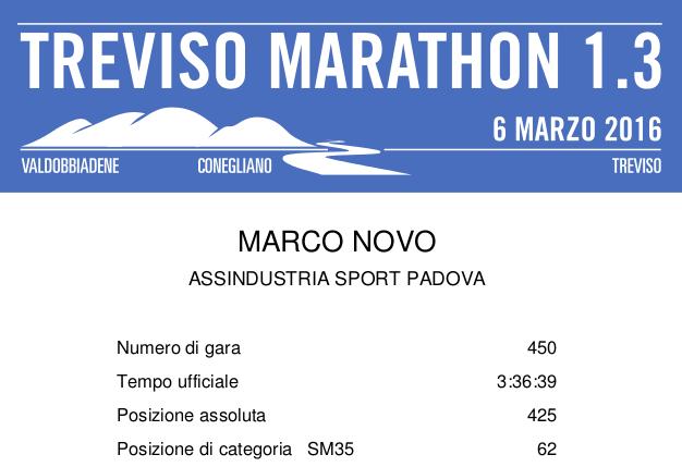 Maratona di Treviso (Treviso Marathon 1.3)