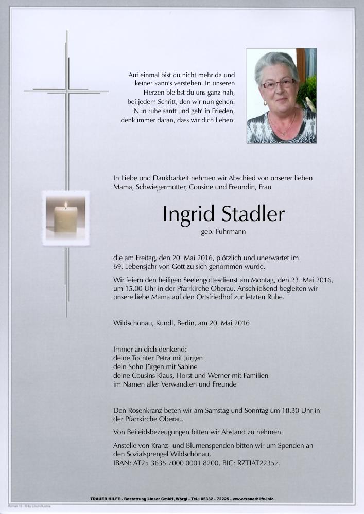 Stadler Ingrid