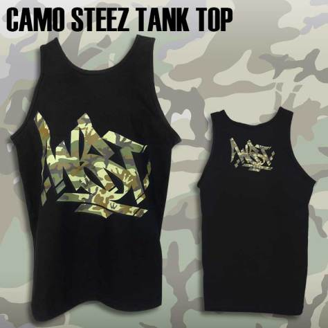 Men's Camo Steez Tank Top