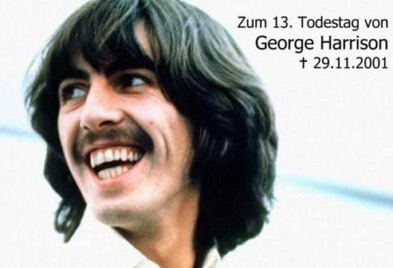 George Harrison PI Todestag-1