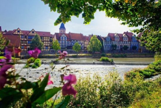 "Drei Flüsse in Hann. Münden erleben - Flussgenuß am ""Fluss-Kuss""!"