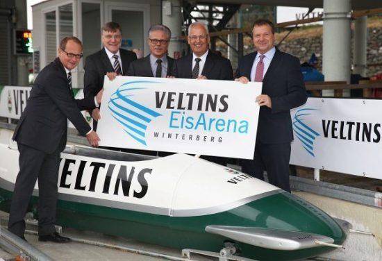 Winterberger Bob- und Rodelbahnheißt in Zukunft VELTINS-EisArena