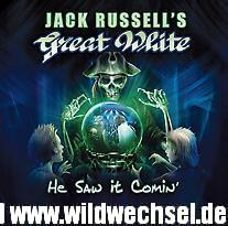 JACK RUSSELL'S GREAT WHITE - He Saw It Coming - (Frontiers Rec)