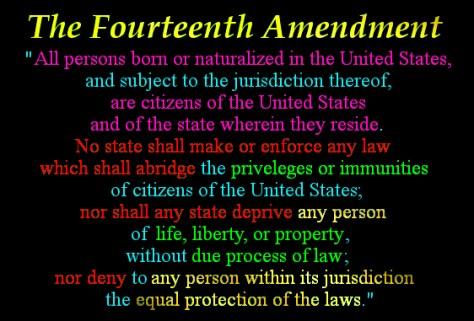 3 14th Amendment
